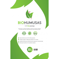 BIOHUMUSAS 30 l