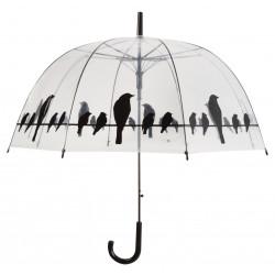 Permatomas-skėtis-su-paukščiais