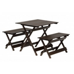 Stalas su dviem suoleliais