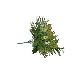 Dirbtinių gėlių puokštelė x13
