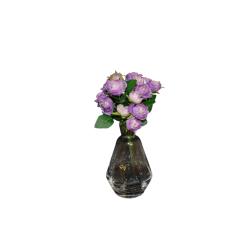 Dirbtinių rožių puokštelė x7